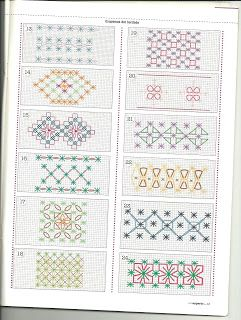 ✿ ✿ ✿ ✿ Mila Arts and Crafts: EMBROIDERY SPANISH PART SIX