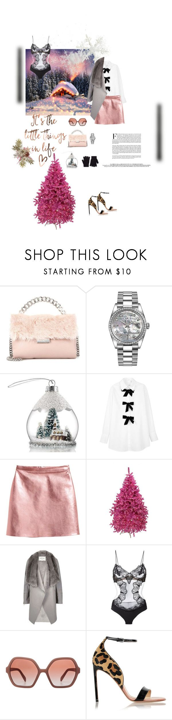 """Untitled #657"" by xocolate ❤ liked on Polyvore featuring STELLA McCARTNEY, Rolex, Avon, See by Chloé, River Island, La Perla, Prada, Francesco Russo and Accessorize"