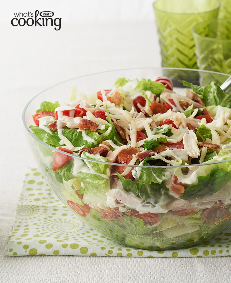 158 best salad recipes images on pinterest salad recipes cooking chicken blt salad recipe forumfinder Image collections