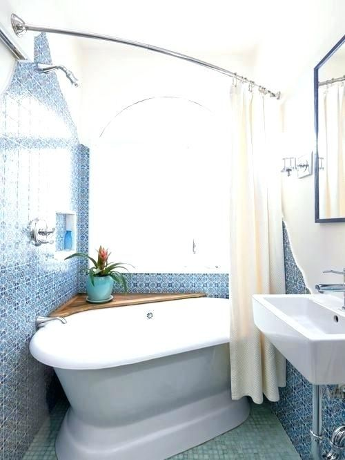 Image Result For Shower Curtain Free Tub Full Bathroom Designs