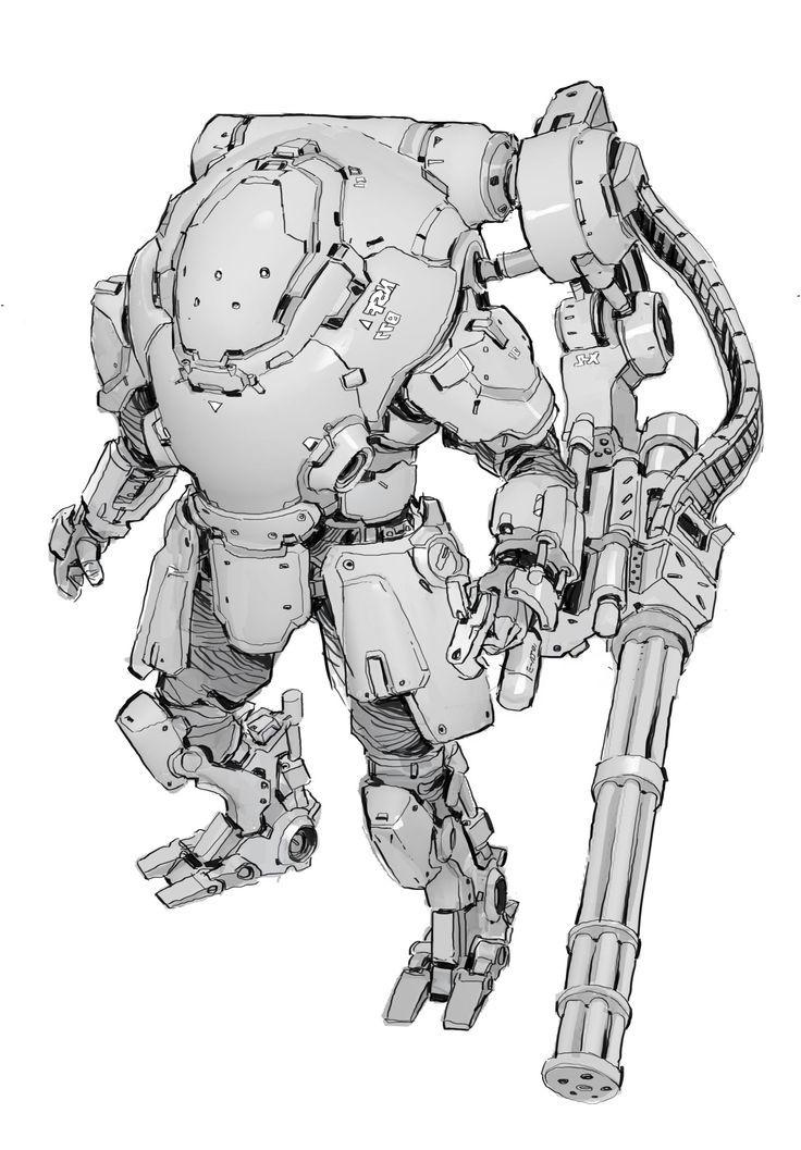 ab0ff374056e87e295de3c17e984eb81--robot-factory-scifi.jpg (736×1057)