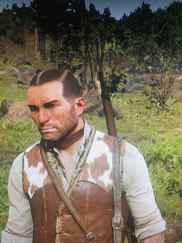 Red Dead Redemption 2 Hairstyles : redemption, hairstyles, Loaded, Stylish, Haircut,, Anyone, Knows, (Also, Beard, Disappeared), Reddeadred…, Redemption, Online,