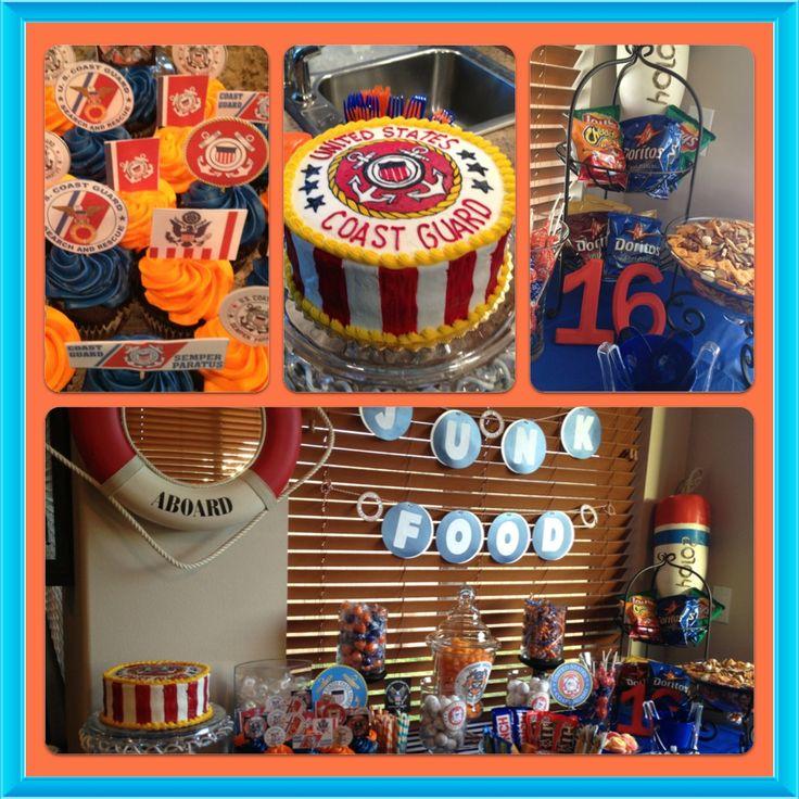 Boys 16th Birthday ** Coast Guard ** Themed Party !! Junk