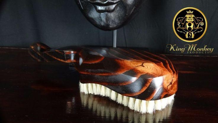 Original King Scorpion 360 Wave Brush - Handmade  Hard Boar Bristle Hair Brush  #KingScorpion360