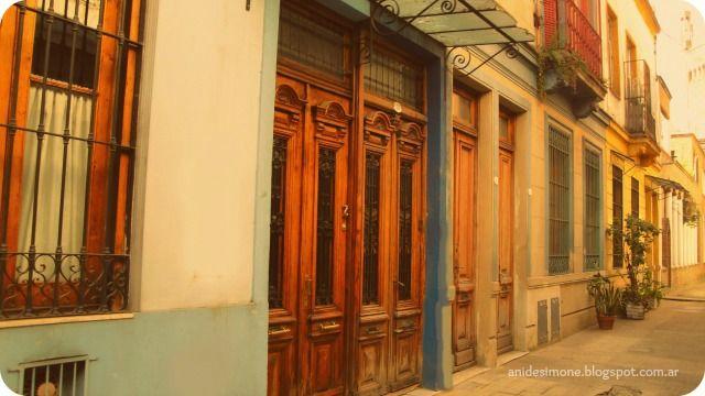 Pasaje san Carlos. Almagro, Buenos Aires.