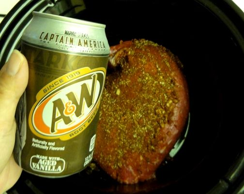 Root Beer Crock Pot Tri Tip!  Another Yummy from Just Jenn!
