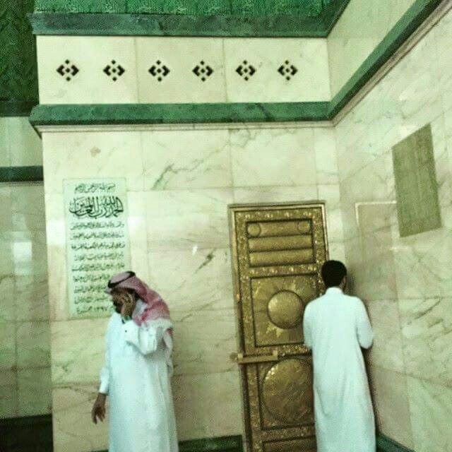 Inside  the kabah  1 # Mecca