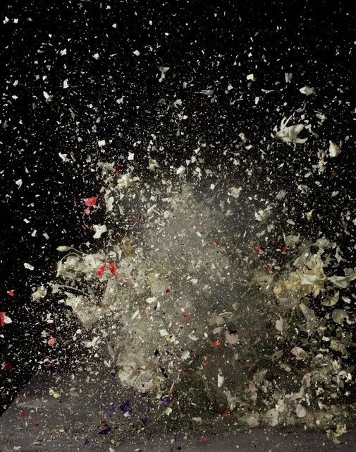 Available for sale from Brand New Gallery , Ori Gersht, Blow Up - Untitled 7 (2007), Light Jet print, 240 × 180 cm