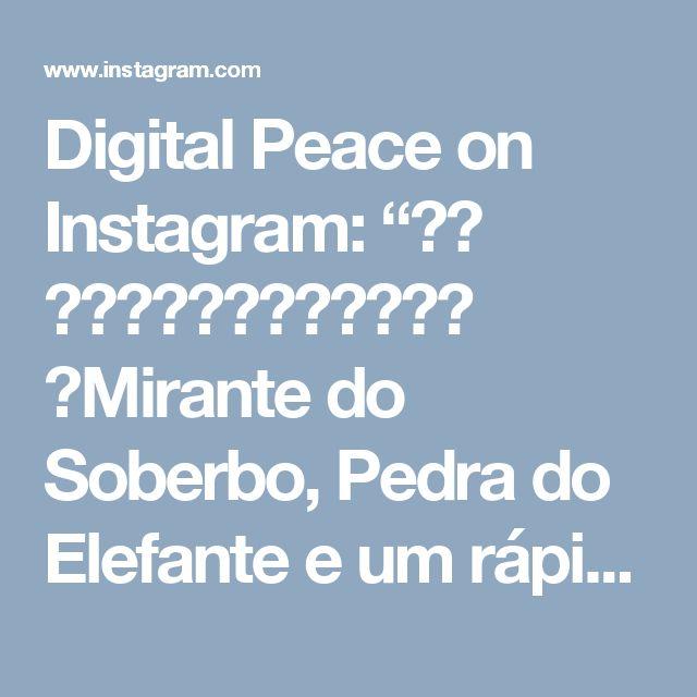 """Digital Peace on Instagram: """"🎥🚁 ➖➖➖➖➖➖➖➖➖➖➖➖ 🚩Mirante do Soberbo, Pedra do Elefante e um rápido voo próximo ao Dedo de Deus. ➖➖➖➖➖➖➖➖➖➖➖➖ ⛰ Localizado na entrada de…"""" • Instagram"""