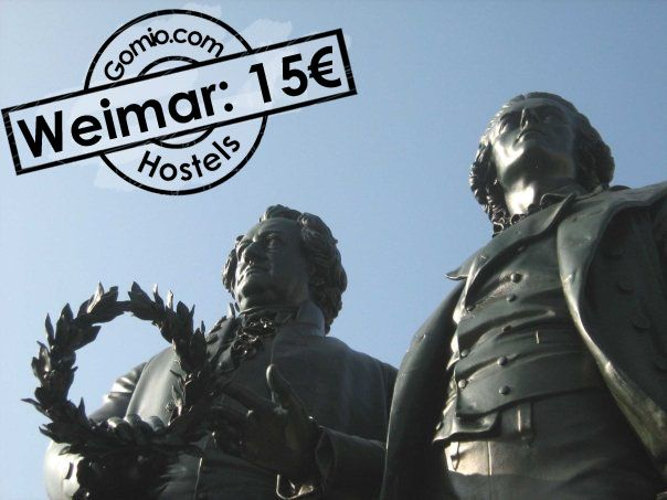 #Weimar, #Germany 15€  Do you know the #famous #german writers #Johann #Wolfgang von #Goethe and #Friedrich #Schiller? The #city of Weimar was home for these two famous #writers and more. If you are #interested in #discovering more about the #German #Culture of #Writing and #Philosophy, Weimar is your place to be. Find all #Hostels in Weimar here with us.  http://www.gomio.com/en/hostels/europe/germany/weimar/search.htm  #Backpacking #Hostels #Hosteling #backpacker #travel #summer #sun…