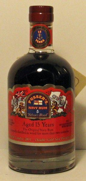 Pussers British Navy Rum 15 Years Old, British Virgin Islands: