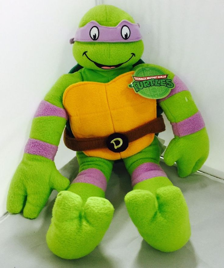 Donatello Teenage Mutant Ninja Turtles TMNT Stuffed Plush ...