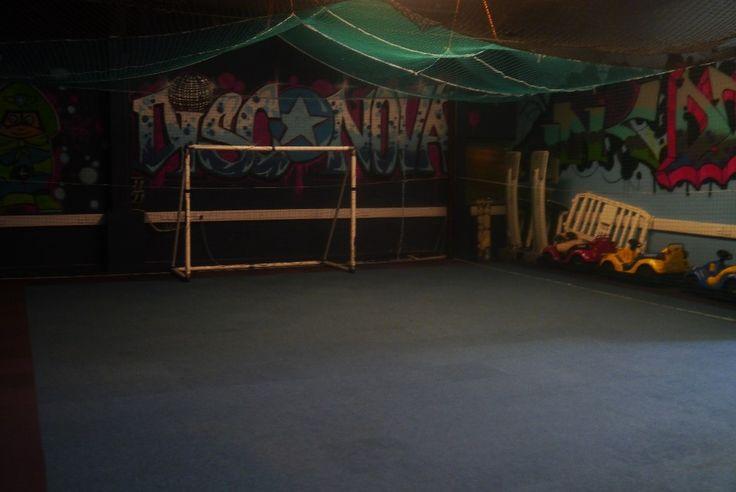 Indoor Soccer arena