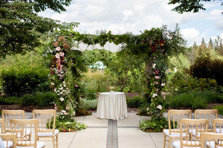Stunning Garden Inspired Floral Arch