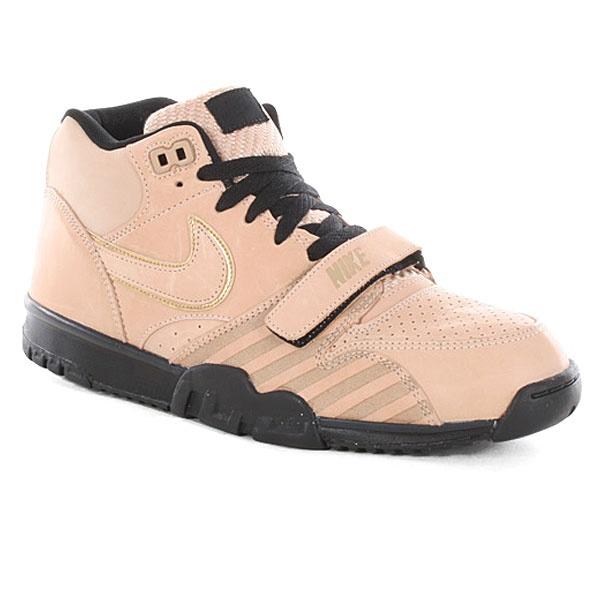 Nike Air Trainer 1 Mid Premium Qs Shoes - Vachetta Tan