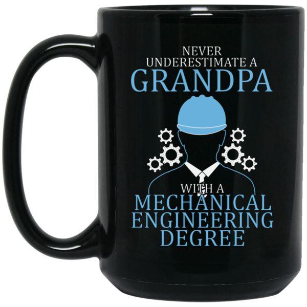 Engineer Grandpa Mug Grandpa With Mechanical Engineering Degree Coffee Mug Tea Mug Engineer Grandpa Mug Grandpa With Mechanical Engineering Degree Coffee Mug Te