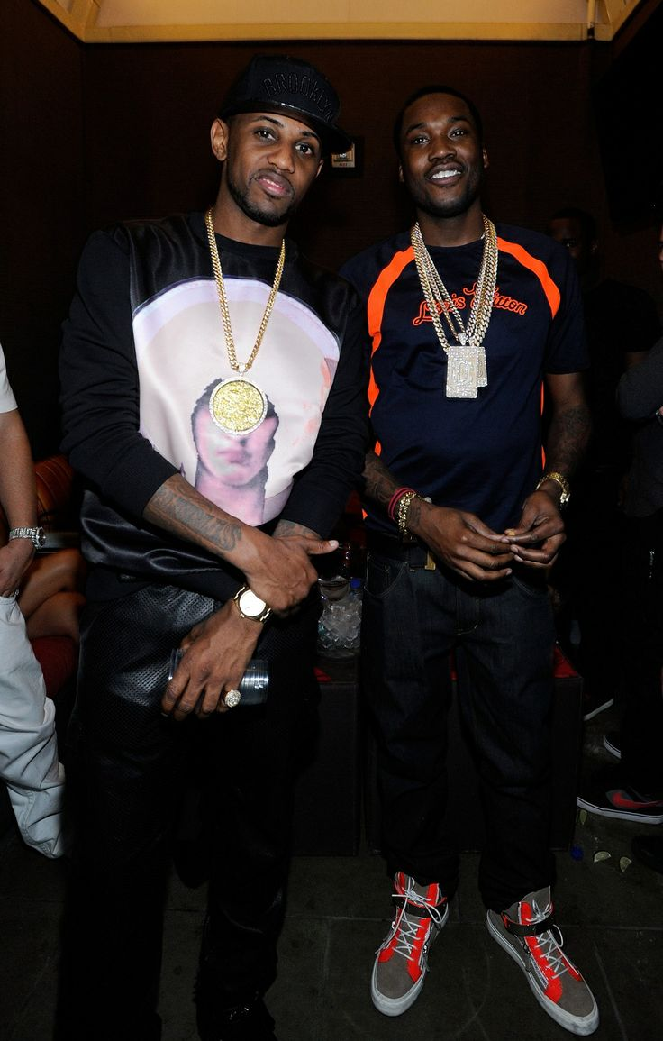 "Fabolous and Meek Mill at Diddy 's ""Fight Night After Party"" at ..."