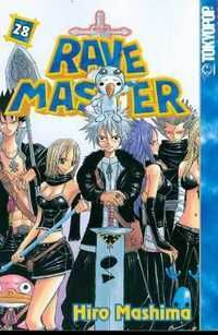 Rave Master - By the same mangaka as Fairy Tail. The series starts out having music themed places, then loses it after the first or second arc (thankfully).  It begins lighthearted, but try not to get too attached to anyone by the end because people be dying everywhere.  Really pulls at the heartstrings.  I really enjoyed it.  4 out of 5 stars.  (Some of the translations are terrible, so you may have to slog through that.)