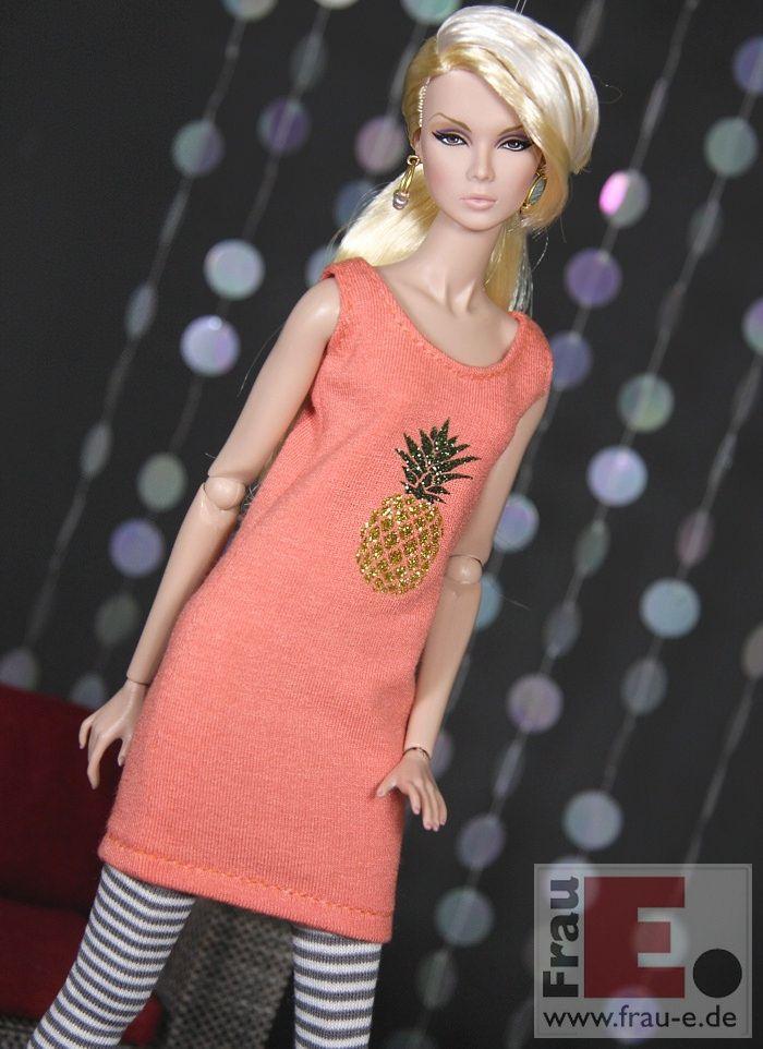 "https://flic.kr/p/HKPDyb   ""Sparkling Pineapple""   salmon dress with glitter print"