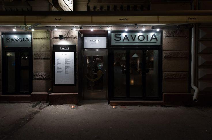 Meny — Restaurant Savoia