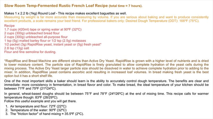 Easy rustic french round loaf