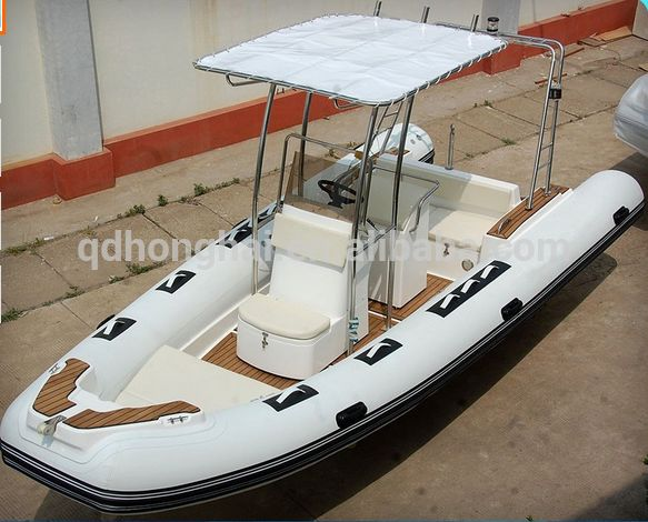 Ce Approved 5.8m 9 Persons Rigid Inflatable Boat Cheap Fiberglass Rib Boat…