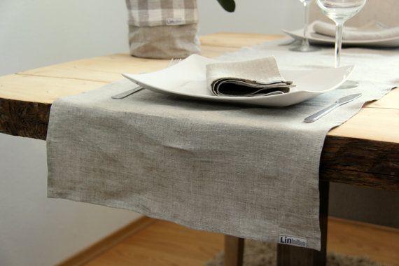 Linen Runner by lininline on Etsy