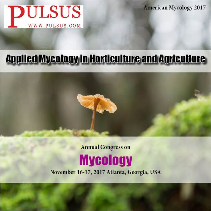 Fungi have been utilized for thousands of years and their importance in agriculture, medicine, food production and the environmental sciences is well known. Join us at #Atlanta - # http://mycology.cmesociety.com/