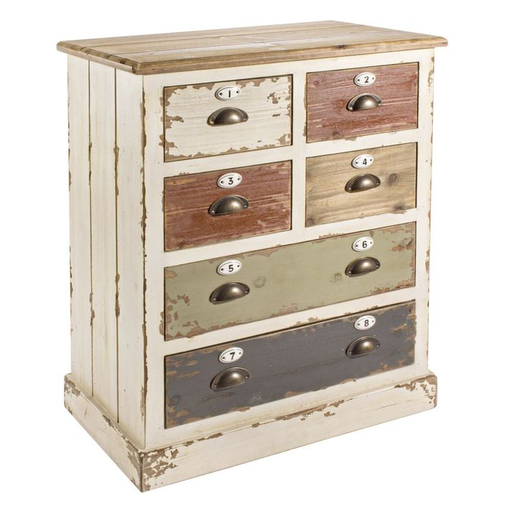 M s de 1000 ideas sobre muebles decapados en pinterest - Cajones de madera antiguos ...