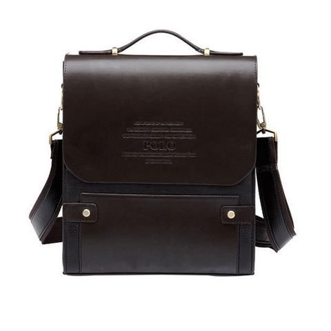 Vertical Messenger Bag with Handle