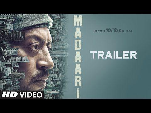 MADAARI Official Trailer 2016   Irrfan Khan, Jimmy Shergill   T-Series - YouTube