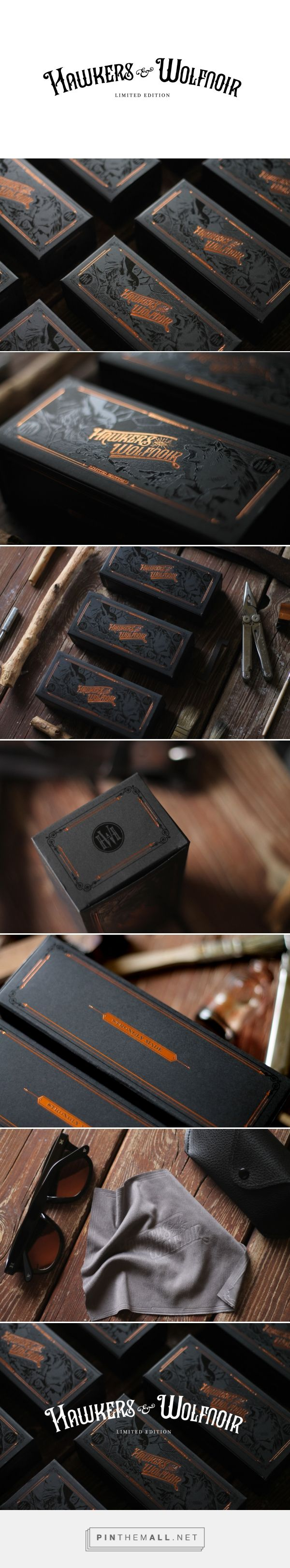 Hawkers & Wolfnoir Ltd. Edition Glasses Packaging by David Sanden   Fivestar Branding Agency – Design and Branding Agency & Curated Inspiration Gallery