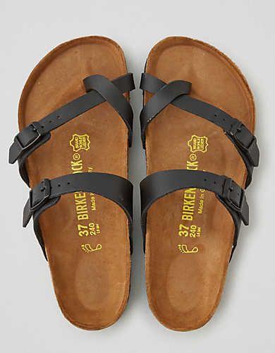 Birkenstock Mayari Sandal , Black | American Eagle Outfitters