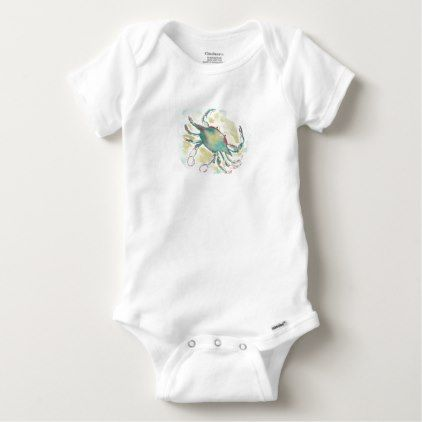 Crab baby bodysuit watercolor gifts style unique ideas diy crab baby bodysuit watercolor gifts style unique ideas diy watercolor style pinterest baby bodysuit negle Choice Image