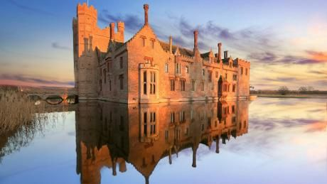 No-one ever forgets their first sight of Oxburgh - a romantic, moated manor house. Built by the Bedingfeld family in the 15th century, they have lived here ever since. Inside, the family's Catholic history is revealed, complete with a secret priest's hole which you can crawl inside.