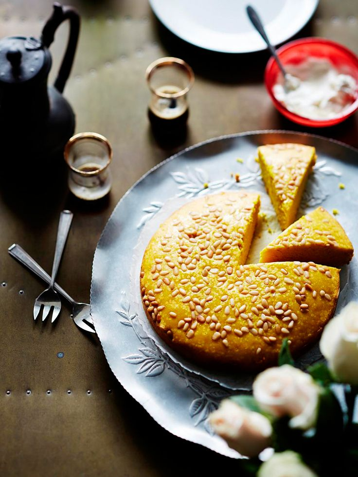 Turmeric and aniseed cake recipe : SBS Food