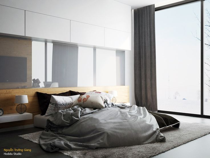 Because it's such a private and intimate area, the bedroom offers unlimited potential for expressive decor. After all, you can always choose to skip it when giv