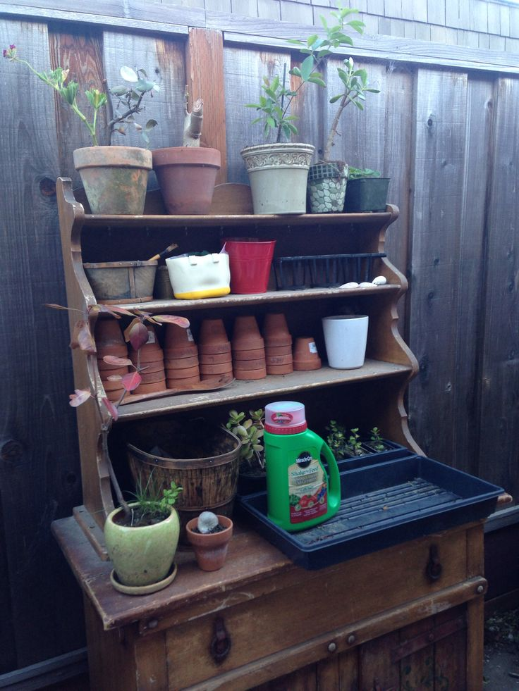 Potting And Tool Storage Area Gardening For Health Pinterest Tools Storage Area And Storage