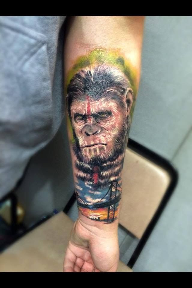 planet of the Apes tattoo | Tattoo ideas | Planet of the ...