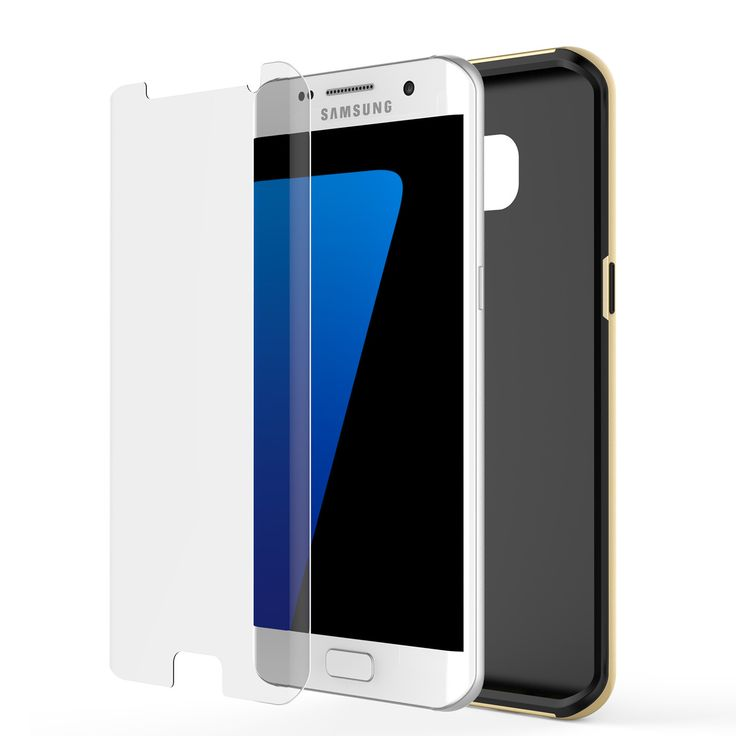 galaxy s7 edge case punkcase stealth gold series hybrid 3. Black Bedroom Furniture Sets. Home Design Ideas