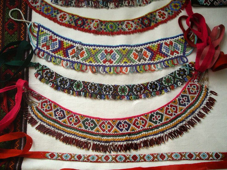 Gerdan - traditional Ukrainian jewellery, part of the national costume.