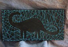 string art dinosaur - Google Search