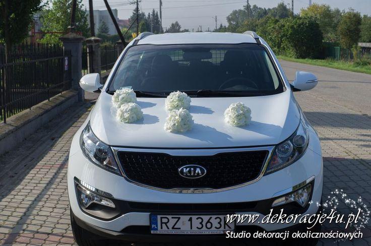 Samochód do ślubu - www.dekoracje4u.pl