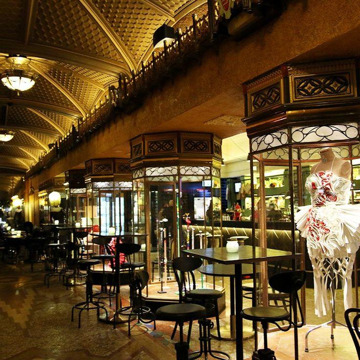 Quirky boutique hotel in Sydney, Australia. QT Hotel.