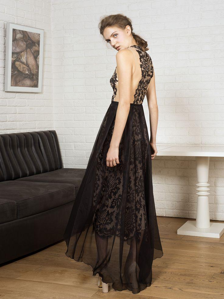 Vestido de noche barcelona or madrid
