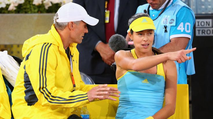 Sears (left) is coach of Ana Ivanovic and father of Kim Sears, Andy Murray's wife