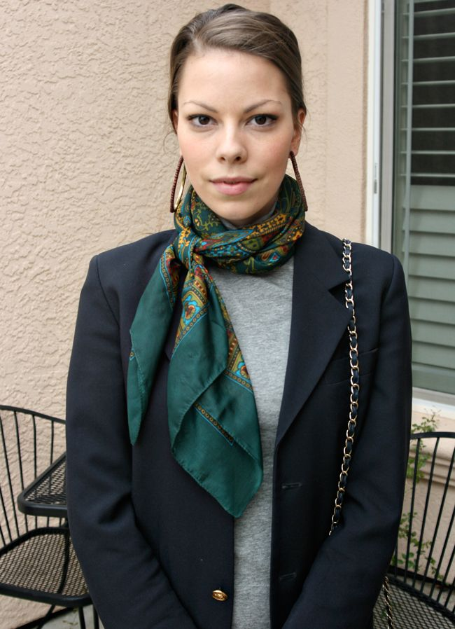 Scarf with Turtleneck