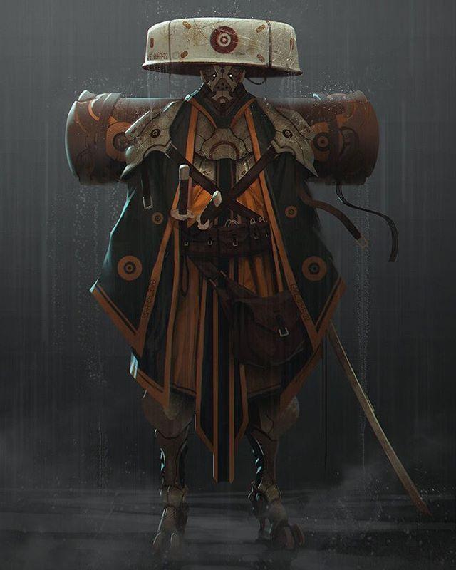 By unknown artist #empireoffuture #man #asia #warrior #samurai #soldier #азия #exosuit #helmet #follow #followme #wow #art #rain #top #самурай #воин #japan #china #future #scifi #science #fantasy #blade #blades #devilzsmile by devilzsmile.com