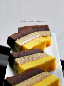 I Love. I Cook. I Bake.: Cream Cheese Lapis Legit  Surabaya Layered Cake