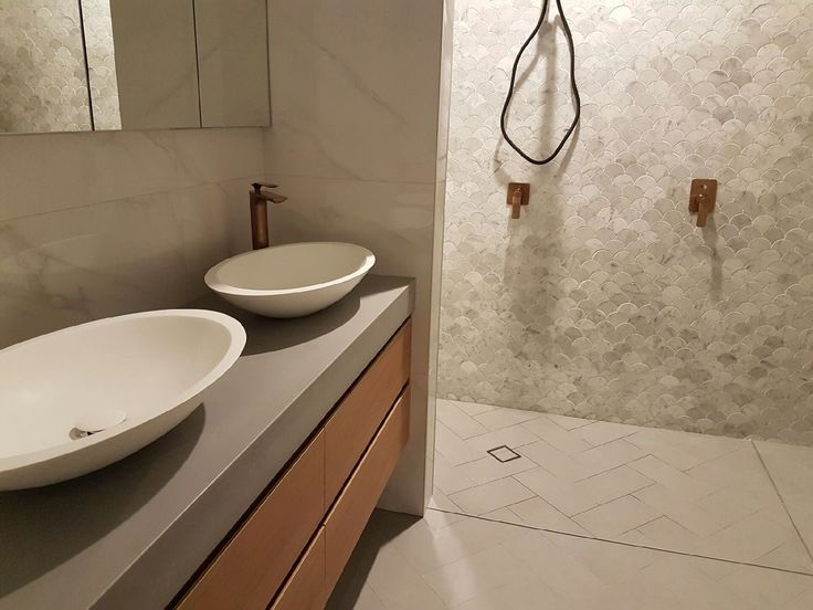 Photo Album For Website Polished concrete vanity top by Mitchell Bink Concrete Design mbconcretedesign